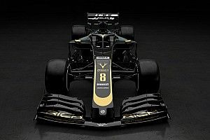 Fotogallery: ecco le prime foto della livrea nero-oro 2019 del team Haas F1