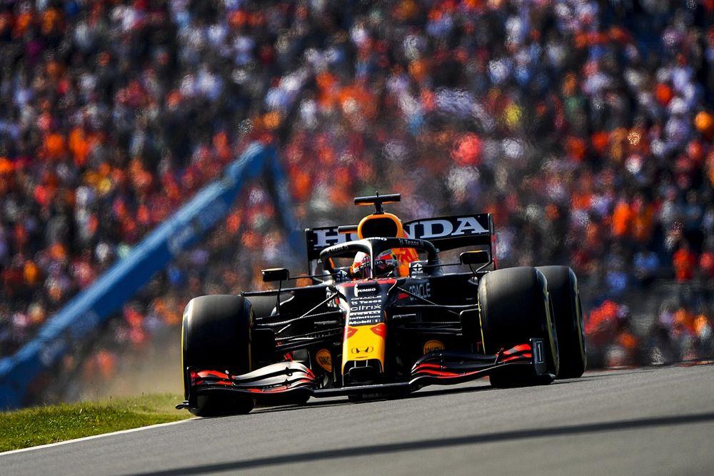 Hollanda GP 3. antrenman: Verstappen 0.5 saniye farkla lider, Sainz kaza yaptı!