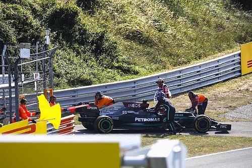 Mercedes revela la causa del fallo de motor de Hamilton (vídeo)
