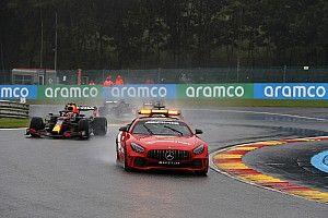 El CEO de la F1 justifica el esperpento de Bélgica