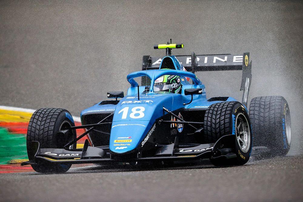 FIA F3: Collet é quarto na corrida 3 e encerra final de semana com pontos em todas as provas em Spa