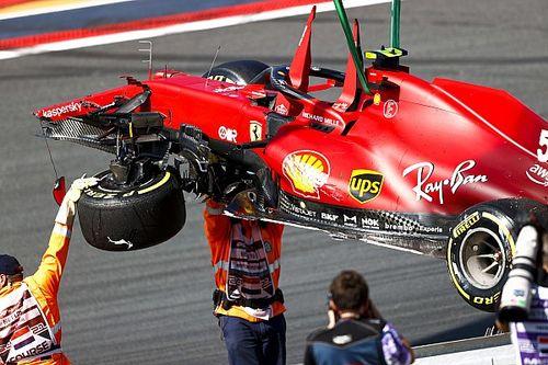 """Sainz: """"El trabajo de los mecánicos fue increíble"""""""
