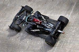 """Mercedes: a pénteki nap alapján """"nehezebb lesz előzni"""" – bajban lehet Hamilton?"""