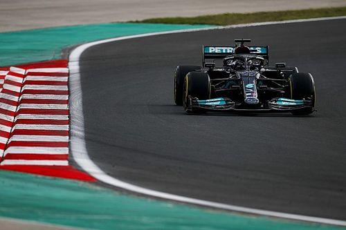"""F1: Hamilton mira pole na classificação para """"controlar danos"""" de punição na Turquia"""