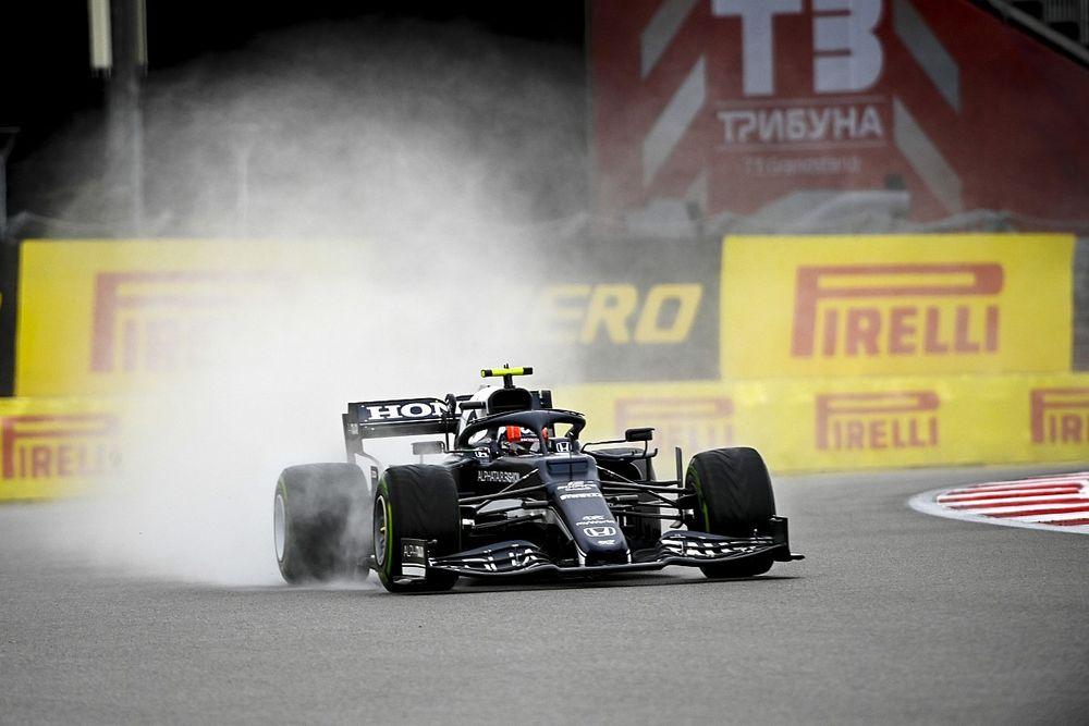 GP Rusia Jadi Akhir Pekan Terburuk Pierre Gasly