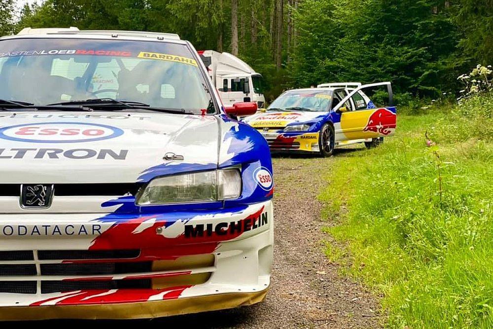 Loeb i Delecour sprawdzali Peugeoty