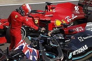 Hamilton: Leclerc demostró cómo hay que correr en Copse