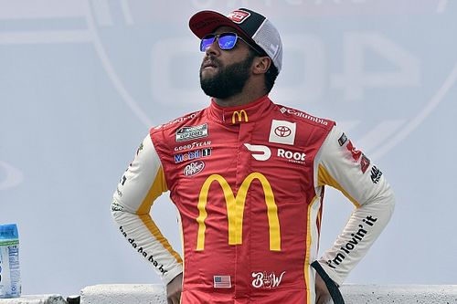 NASCAR red flags Talladega race with Bubba Wallace leading