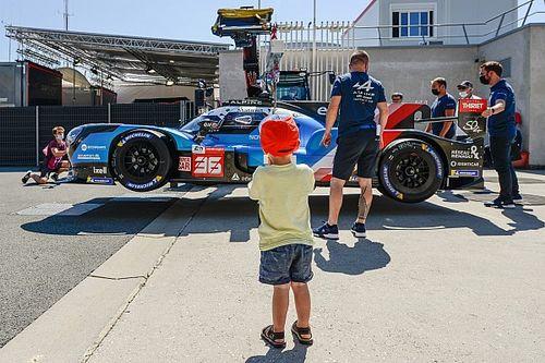 Las primeras imágenes de los coches en Le Mans