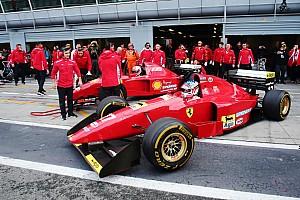 Gallery: Classic Ferrari F1 cars at Monza