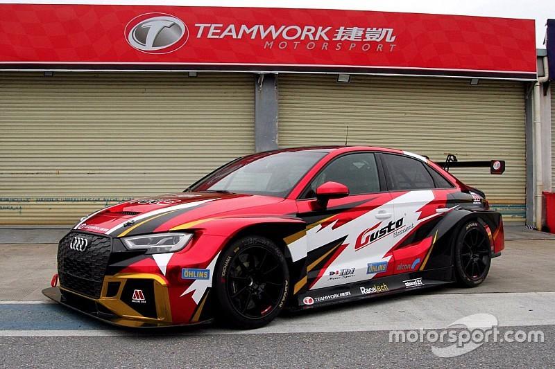Il Teamwork Motorsport a caccia della vittoria TCR alla 24h di Dubai con l'Audi
