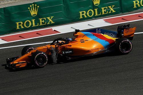 Der Alonso-McLaren in Abu Dhabi