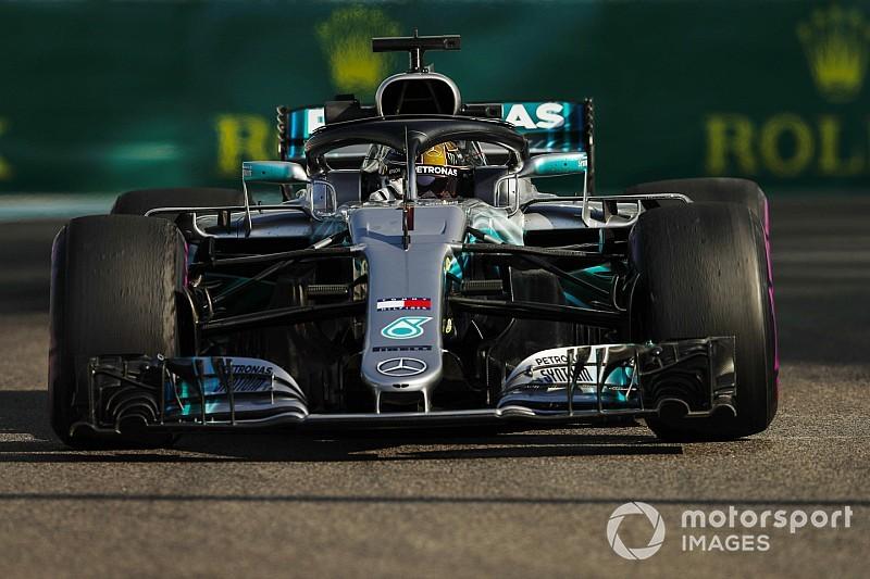 Hamilton arranca adelante el sábado de Abu Dhabi