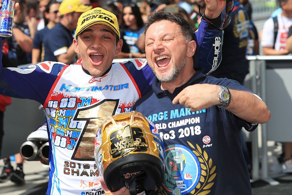 Поворот в Имоле назовут в честь умершего от коронавируса владельца команды MotoGP