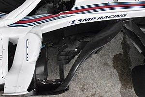 Williams: barge board modificata per migliorare la deludente FW41