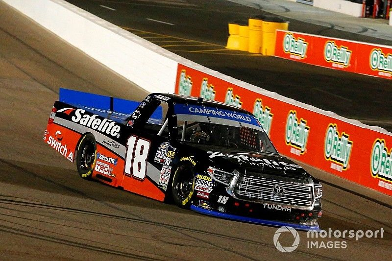 """Noah Gragson plans to """"battle harder"""" for first Truck title"""