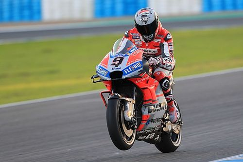 Petrucci leads Ducati 1-2 on first Jerez test day