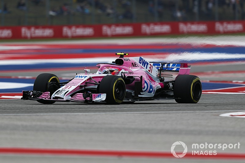 Ocon disqualified from US GP for fuel infringement
