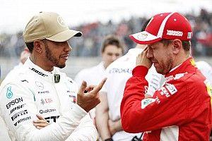 """Vettel: """"A Ferrari versenyképes idén, de sosem volt domináns"""""""