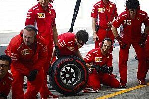 Japonya GP'nin en hızlı pit stopu Ferrari'den geldi