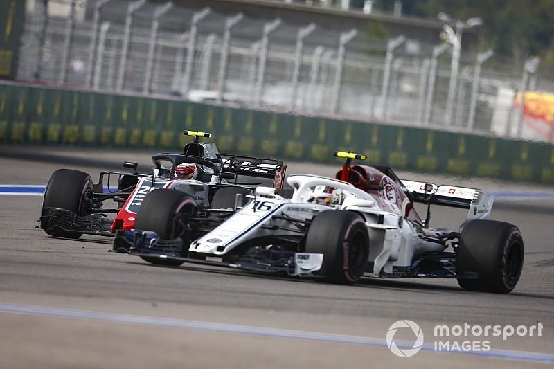 """Leclerc: """"C''est la première fois qu'on est les meilleurs du reste"""""""
