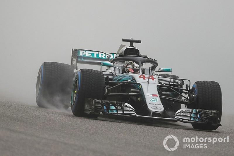 F1 Austin, Libere 2: Hamilton nuota nell'acqua meglio degli altri