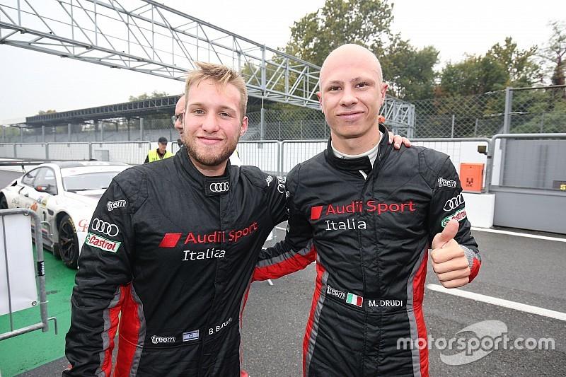 Mattia Drudi di nuovo al volante dell'Audi R8 LMS nella serie Sprint ad Imola