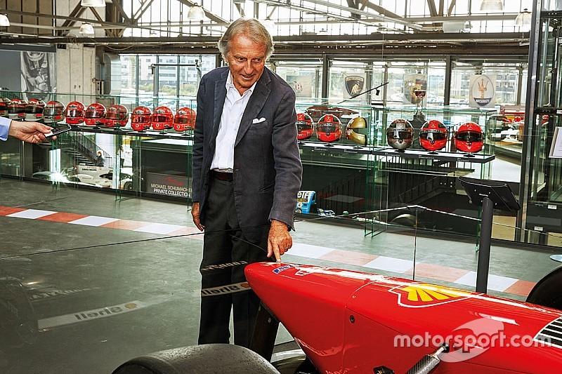 Di Montezemolo's special tour of Schumacher's private collection