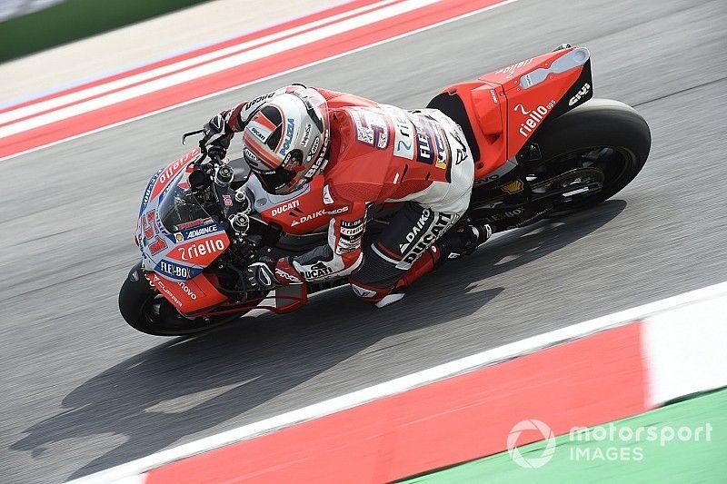 Ducati: 2019er-Maschine im Kurvenscheitel schneller