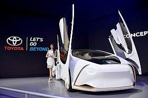 Menatap masa depan bersama mobil konsep Toyota
