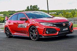 Баттон установил новый рекорд «Хунгароринга» на Honda Civic