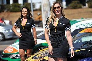 Grid girls tchecas e goianienses iluminam domingo nas pistas