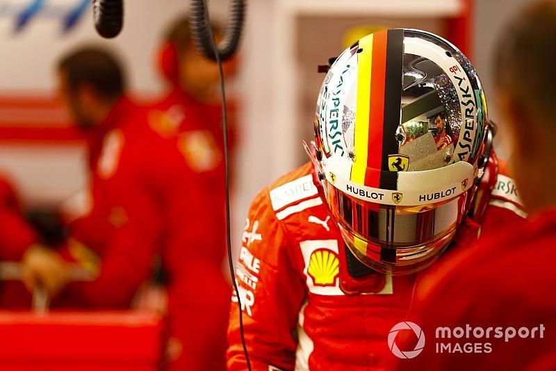 Vettel, 2018 sezonunda 21 farklı kask tasarımıyla yarışmış