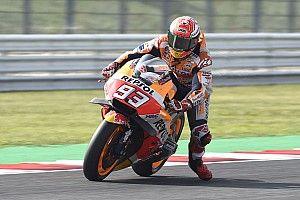 MotoGP in Misano: Marquez im Warm-up vor Ducati-Duo