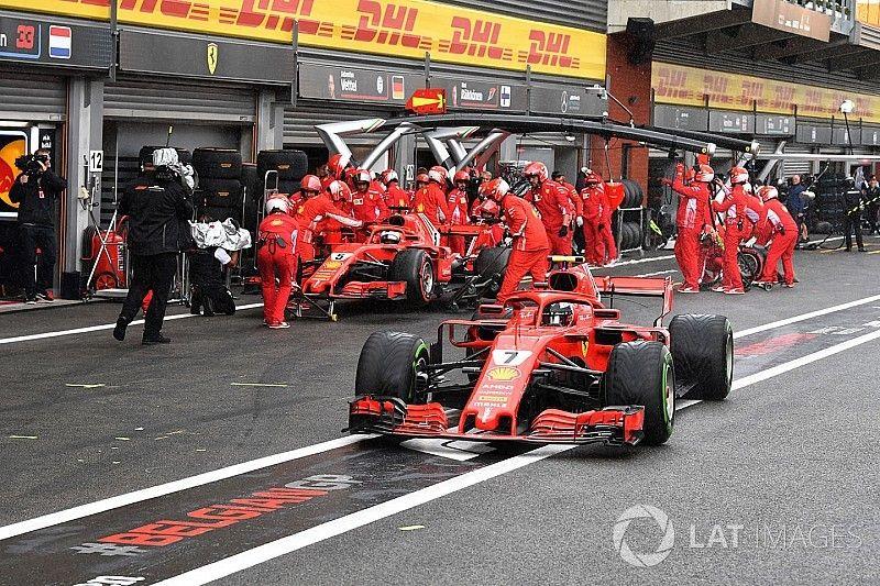 Kein Sprit: Ferrari-Fehlkalkulation kostet Räikkönen Pole-Chance