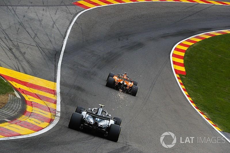 Гран При Бельгии: стартовая решетка в картинках