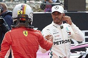 Хэмилтона удивили действия Феттеля на старте гонки