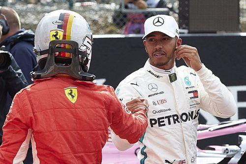 """Hamilton: """"Ho spinto, ho dato il massimo, ma oggi non avevamo il passo della Ferrari"""""""