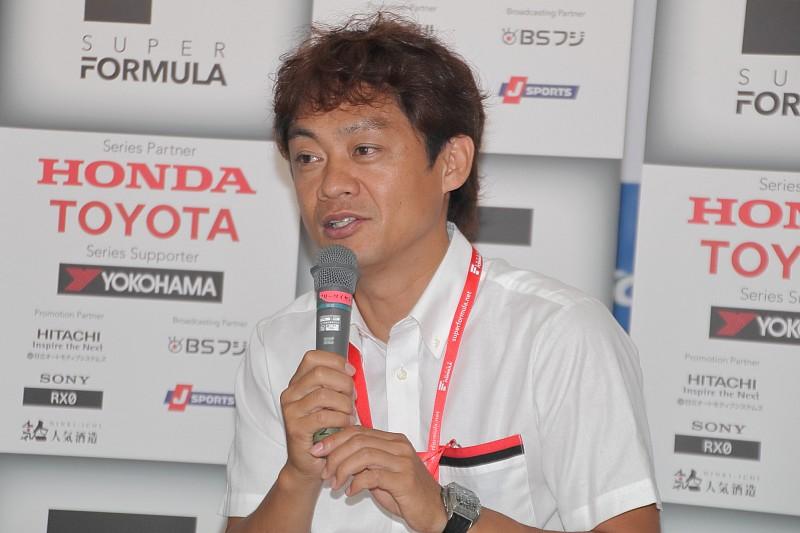 スーパーフォーミュラ決勝テレビ中継、第4戦は脇阪寿一が解説を担当