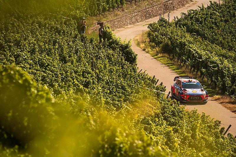 Germany WRC: Neuville keeps Tanak within reach