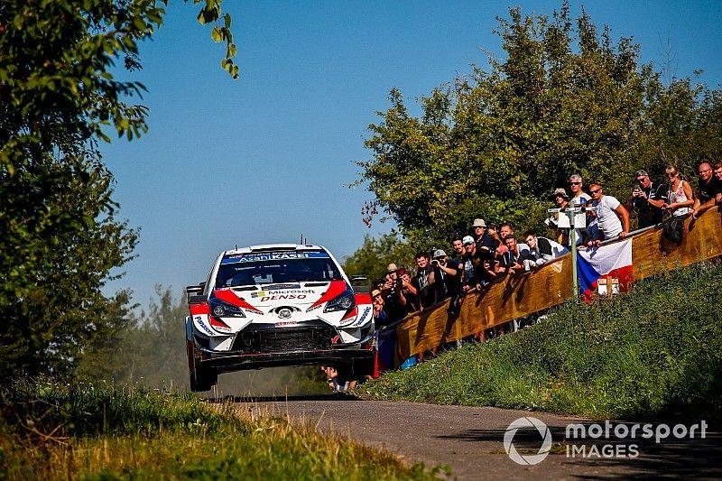 Germany WRC: Tanak pulls small gap over Neuville