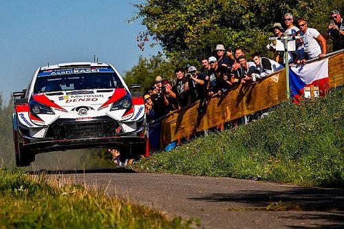 WRCドイツ金曜:トヨタのタナク、ヌービルを僅差で抑え首位