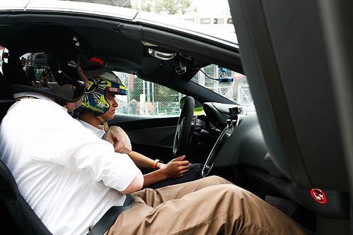 Video: Hot Lap sulla McLaren 600LT a Monza con Lando Norris