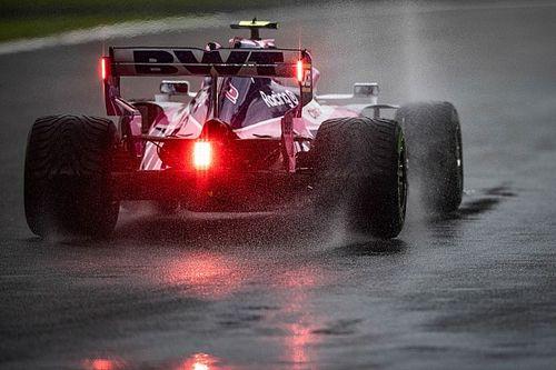 Поведение дождевых шин шокировало Переса и Стролла