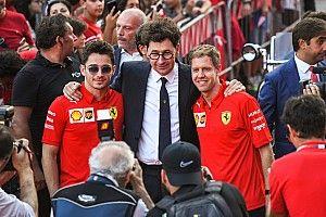 Vettel videón jelentkezett be a Ferrarinál a Brazíliában történtek miatt