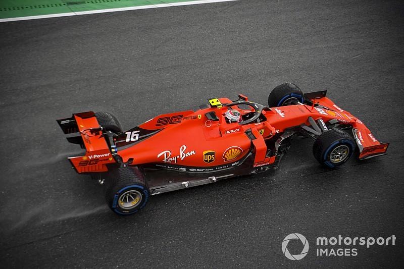F1イタリアFP2:ルクレールが首位も、ハミルトン肉薄。フェルスタッペンは5番手