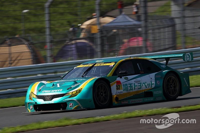 第5戦 決勝途中経過|GT300は波乱続きの展開。52号車マークX MCがトップ