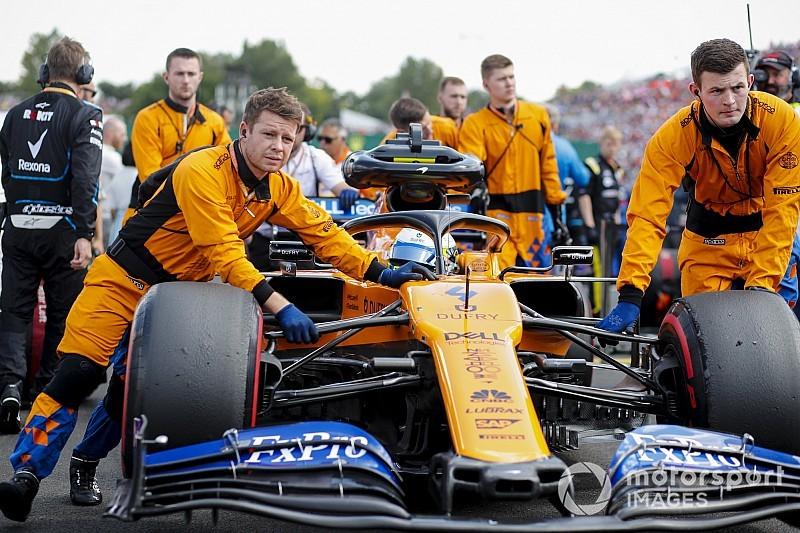 Norris oszołomiony McLarenem