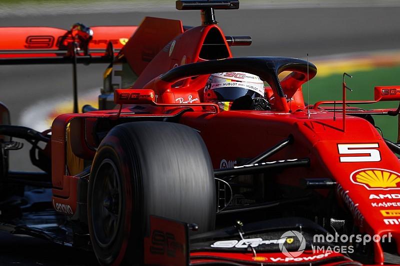 """Vettel: """"İyi bir farka sahibiz ancak daha önce de benzer durumlar oldu"""""""