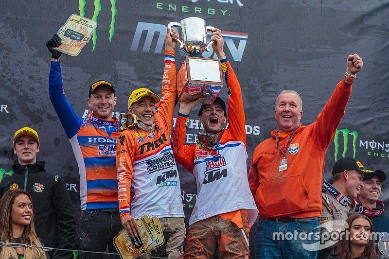 Nederland wint voor het eerst Motocross of Nations